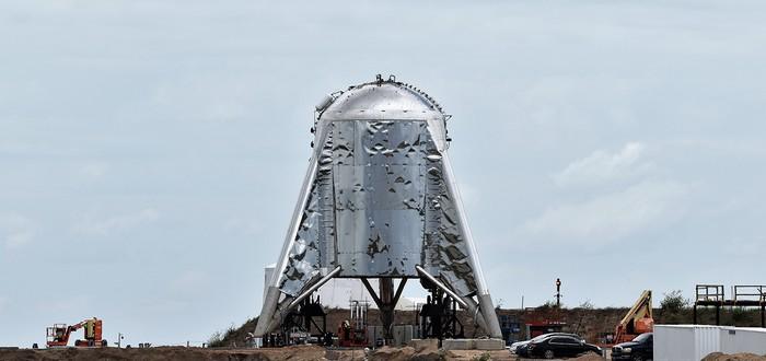 """Испытательный корабль SpaceX Starhopper успешно совершил первый """"прыжок"""""""