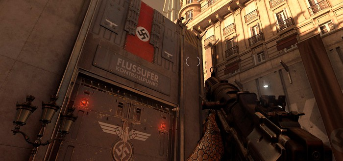 Похоже, Wolfenstein: Youngblood высмеивает стену Дональда Трампа