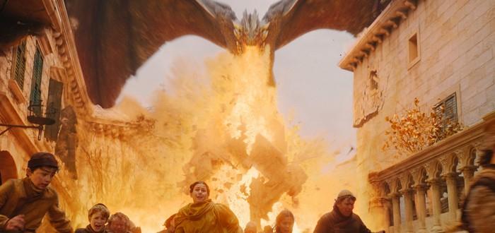 """Оказывается, Дейнерис и Дрогон не были самой разрушительной силой в """"Игре Престолов"""""""