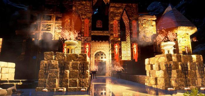 Фанат делает ремейк Unreal на движке Unreal Engine 4 с трассировкой лучей