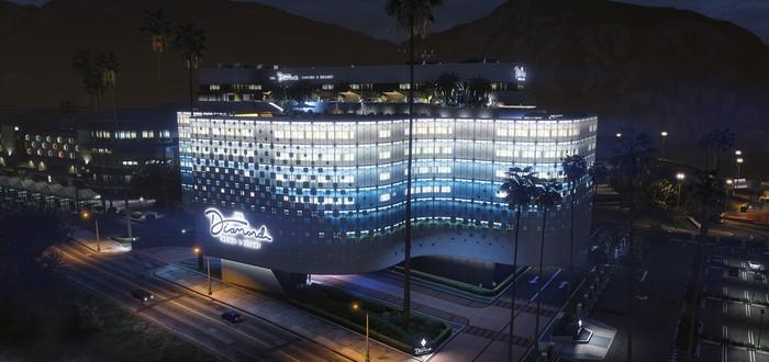 DLC Diamond Casino для GTA Online поставило рекорд по количеству игроков с момента выхода игры