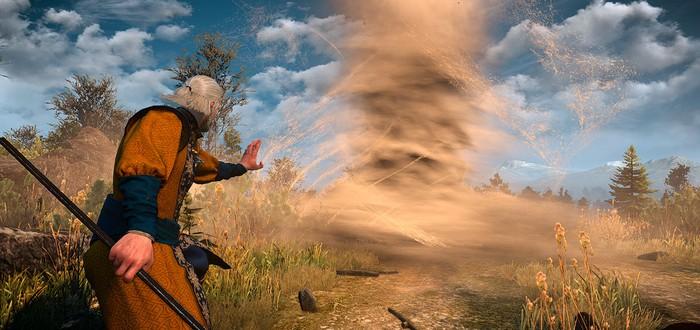 Этот мод The Witcher 3 позволяет кастовать торнадо и вызывать големов