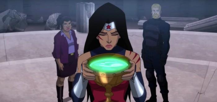 Амазонка в чужом мире — трейлер мультфильма Wonder Woman: Bloodlines