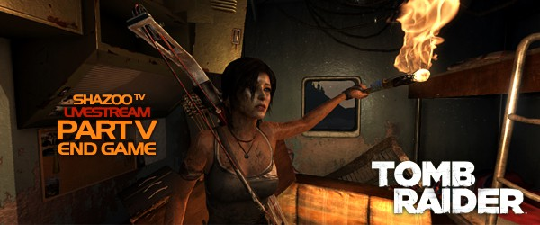 Tomb Raider LIVE - Полное прохождение с комментариями. День пятый и последний