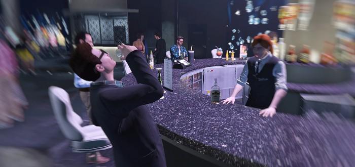 Если напиться в казино GTA Online, то можно получить секретную миссию