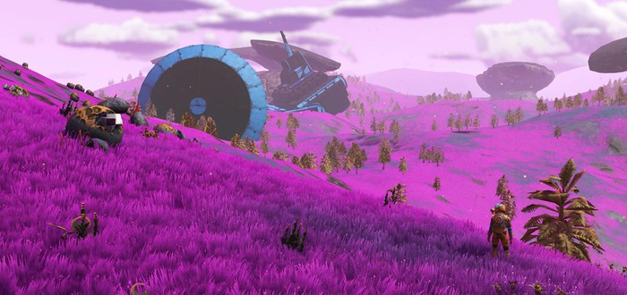 В No Man's Sky вернулась розовая трава – игроки в восторге
