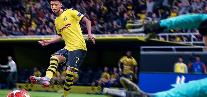 Новые движения футболистов в 15-минутном геймплее FIFA 20