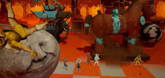 Gamescom 2019: 12 минут геймплея Rock of Ages 3: Make & Break
