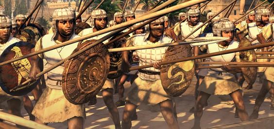 Последняя фракция Total War: Rome 2 - Египтяне