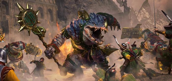Охотник и зверь — трейлер нового дополнения для Total War: Warhammer 2