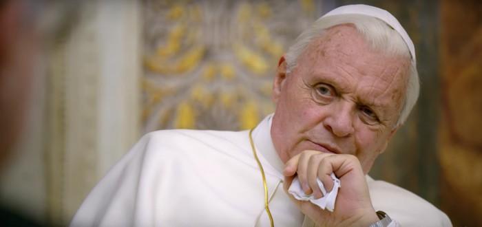 Тизер драмы The Two Popes с Энтони Хопкинсом и Джонатаном Прайсом