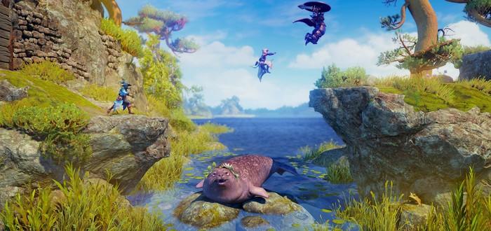 Сказочный мир, схватки и головоломки в новом геймплее Trine 4