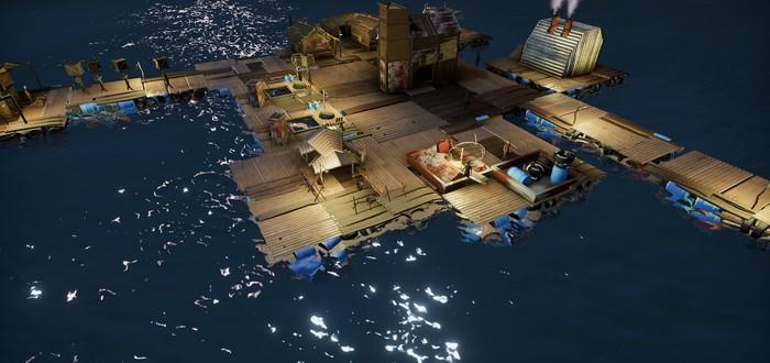 Строительство плавучего поселения и борьба с пиратами в градостроительной стратегии Buoyancy