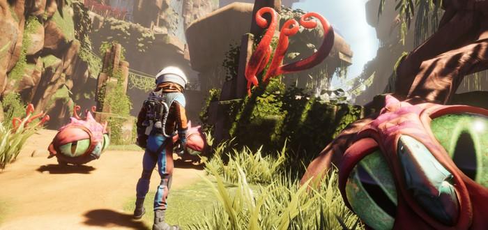 Дивный новый мир в геймплее комедийной адвенчуры Journey To A Savage Planet