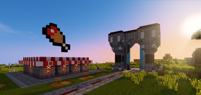 12-летний игрок воссоздал The Witness в Minecraft