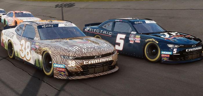 Напряженные гонки в  релизном трейлере NASCAR Heat 4