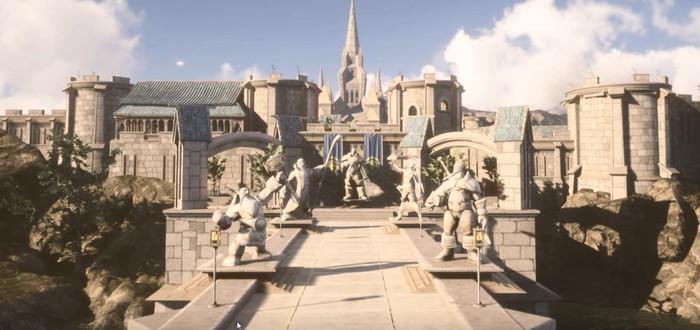 Штормград из World of Warcraft воссоздали на Unreal Engine 4