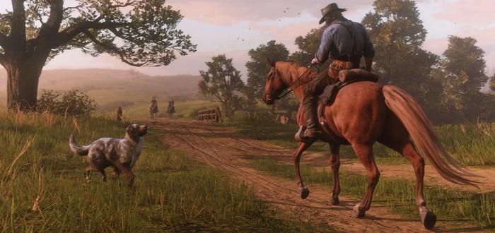 Во время нападения бандитов в Red Dead Online лошадка вступилась за своего хозяина