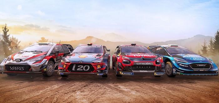 Напряженные раллийные гонки в релизном трейлере WRC 8