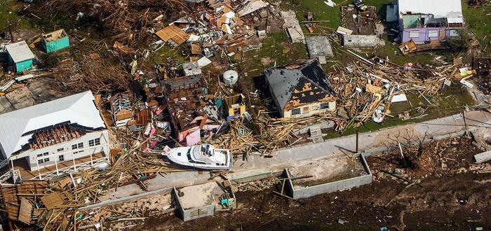 Взгляните на разрушения оставшиеся от урагана Дориан на Багамских островах