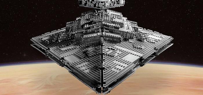 LEGO представила набор Звездного разрушителя из 4784 деталей