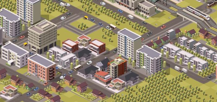 Строительство умного города в первом трейлере Smart City Plan
