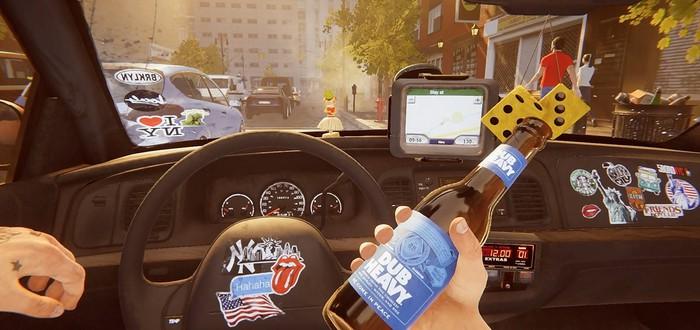 Роды, алкоголики, бандиты и многое другое в трейлере Taxi Simulator