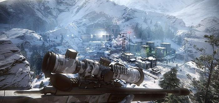 Зачистка зимнего уровня в России в новом геймплее Sniper: Ghost Warrior Contracts