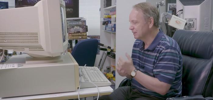 Посмотрите, как Сид Мейер запускает прототип Civilization на 30-летнем компьютере