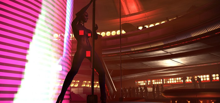 Для Mass Effect 1 и 2 вышел голый мод для танцовщиц