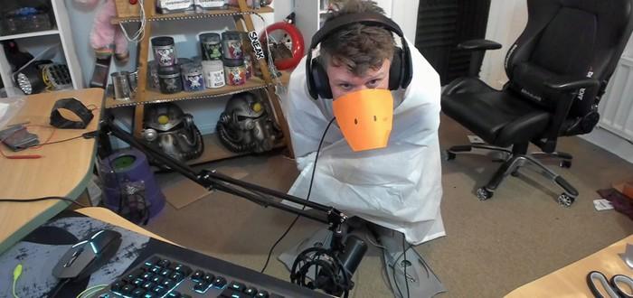 Стример соорудил гусиный костюм-контроллер, чтобы управлять бесстыдным гусем из Untitled Goose Game