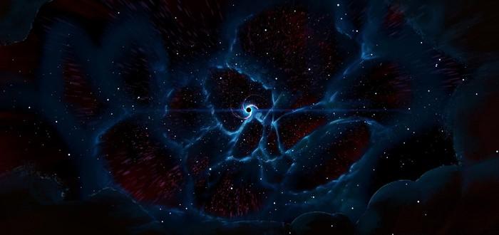 """Посмотрите на первое изображение """"космической паутины"""", объединяющей галактики"""