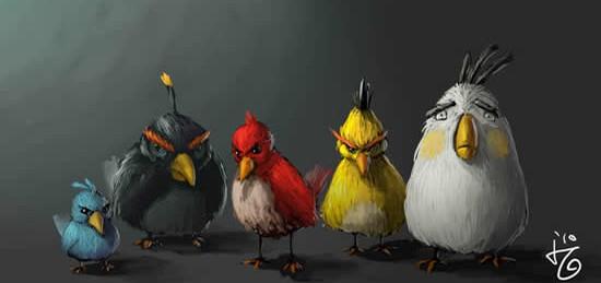 копилки Angry Birds