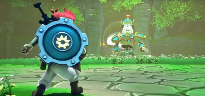 Релизный трейлер Zelda-подобного экшена A Knight's Quest