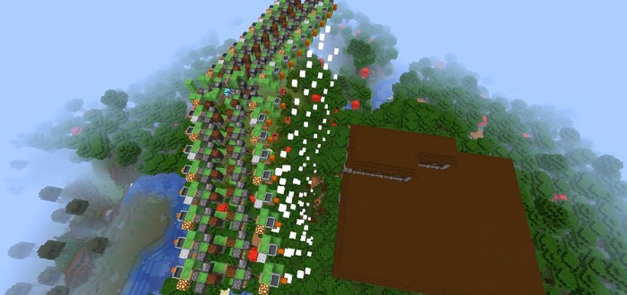 Игрок Minecraft построил работающий бомбардировщик