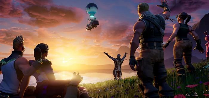 Игровой мир Fortnite исчез в черной дыре — это конец 10 сезона