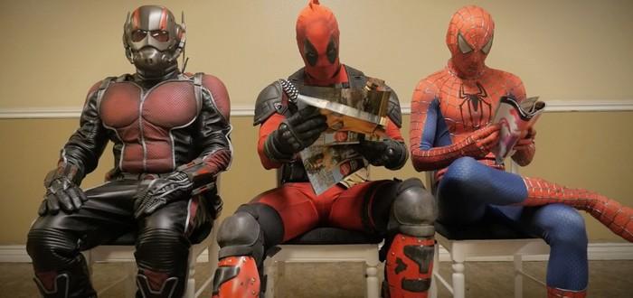 Райан Рейнольдс встретился с боссами Marvel
