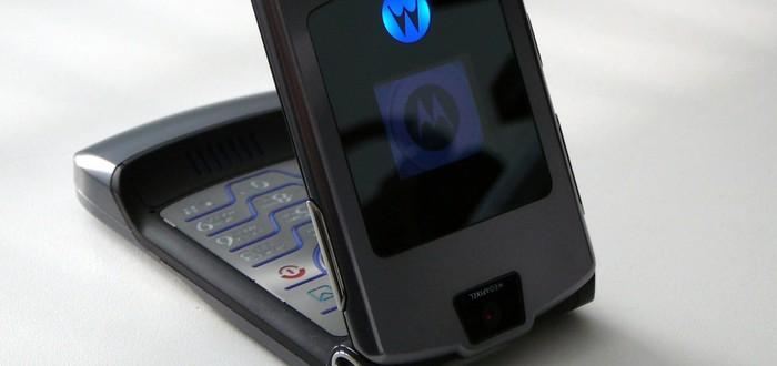 Новую раскладушку Motorola RAZR представят 13 ноября