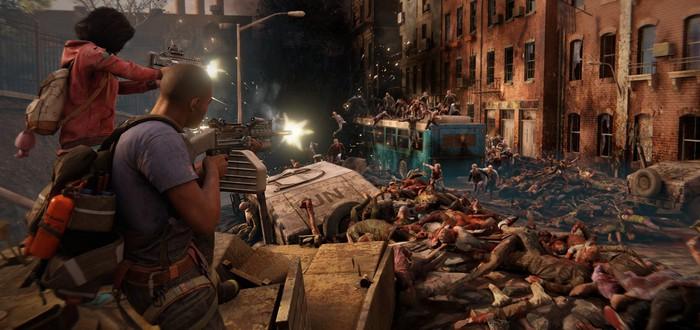Толпы зомби в трейлере режима орды для World War Z
