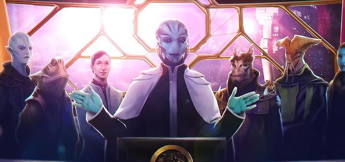Для Stellaris анонсировали дополнение Federations и набор с новой расой Lithoids Species