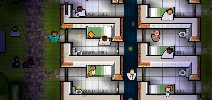 Prison Architect получит дополнение Psych Ward: Warden's Edition в ноябре
