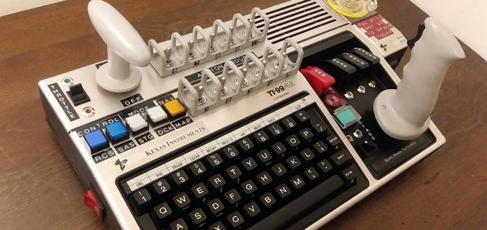 Фанат Kerbal Space Program сделал кастомный контроллер из компьютера 1981-го года