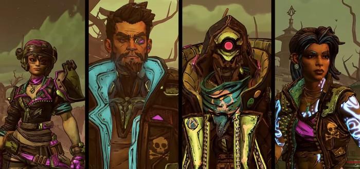 Трейлер хэллоуинского события Borderlands 3