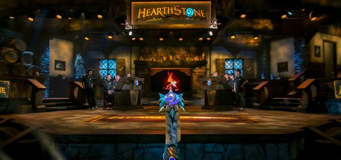 Трофей турнира Masters по Hearthstone сломался в руках победителя