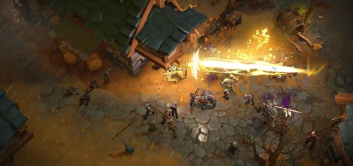 Геймплейный трейлер кооперативного экшена Darksburg от разработчиков Northgard