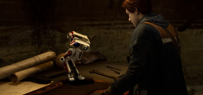Фичуретка Star Wars Jedi: Fallen Order о создании дроида BD-1