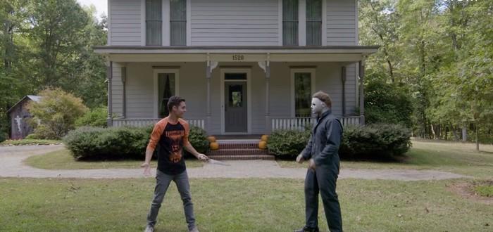 "Фанат хоррора ""Хэллоуин"" построил точную копию дома Майкла Майерса"