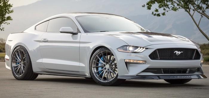 Ford показал электромаслкар Mustang Lithium с механической коробкой передач