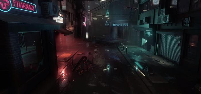Crytek выпустила неоново-нуарный бенчмарк на CryEngine