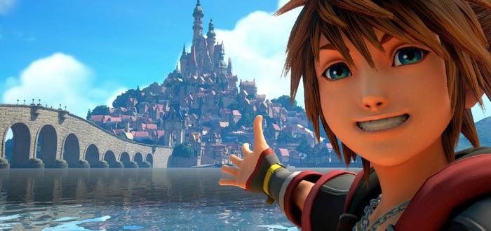 Демо-версия Kingdom Hearts 3 доступна на PS4 и Xbox One